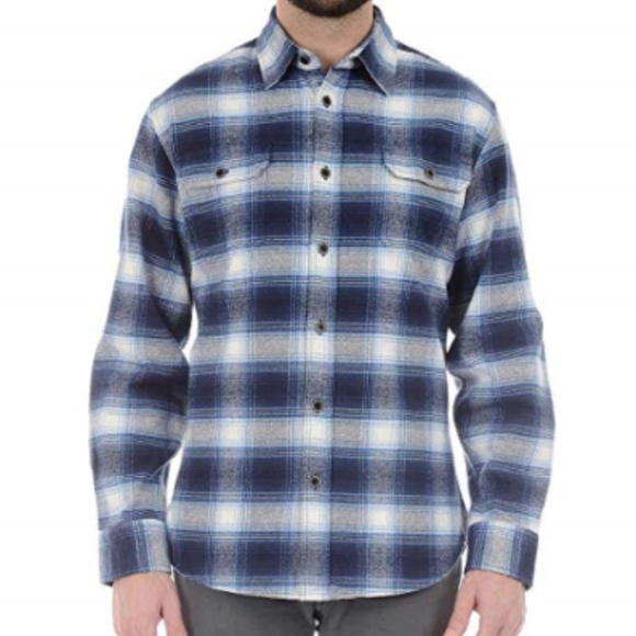 VARIOUS COLORS /& SIZES NEW Jachs Men's 9oz Cotton Flannel Brawny Flannel Shirt